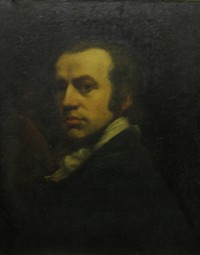"Self-portrait by John Opie RA, the ""Cornish Wonder"", 1761-180"