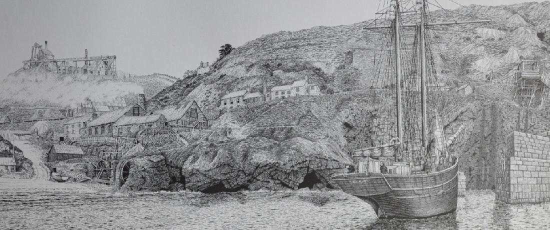 Lady Agnes in St Agnes Harbour