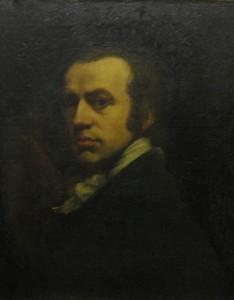 "Self-portrait by John Opie RA, the ""Cornish Wonder"", 1761-180"