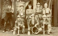 Miners at West Kitty