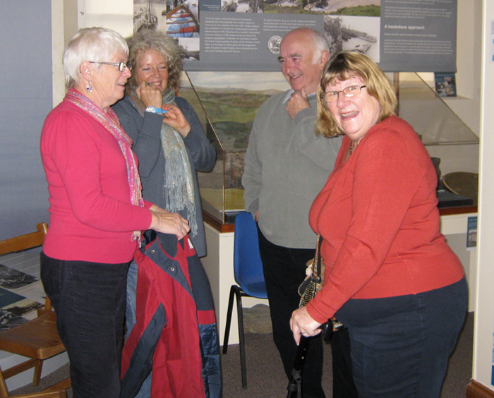 Museum friends at the Coffee Extravaganza