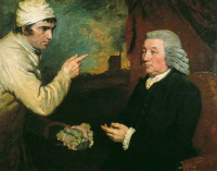 A Gentleman and a Miner by John Opie