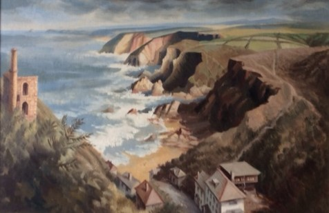 Trevaunance Cove by Erica Suttill